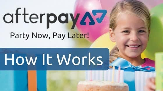 Party Now And Pay Later With Afterpay