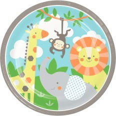 Jungle Animals Party Supplies | Boys and Girls Birthday