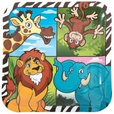 Jungle Animals Party Supplies   Boys and Girls Birthday