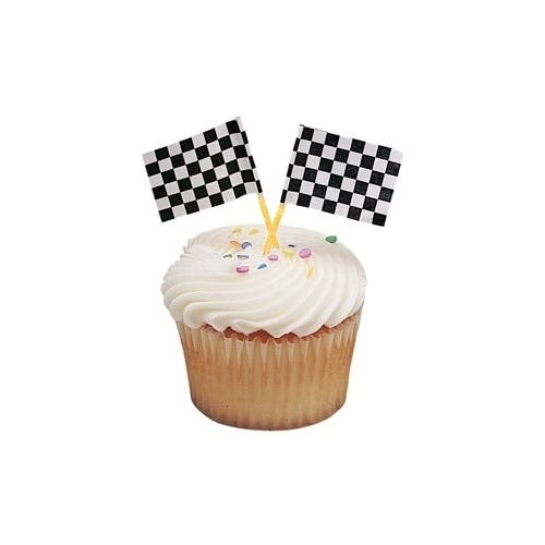 How To Make Chequered Flag Cake
