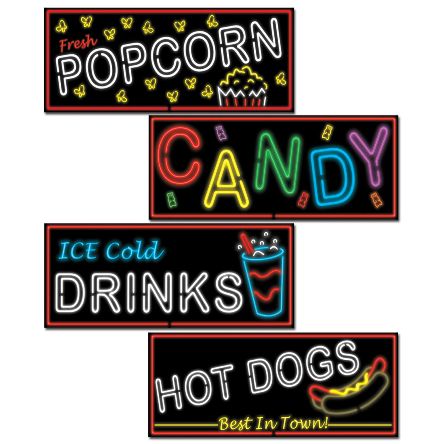 movie night circus carnival party supplies decorations 4