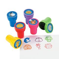 Zoo Animal Stamps (Pack of 24)