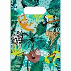 Wild Jungle Lolly/Treat Bags (Pack of 8)