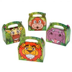Zoo Adventure Treat Boxes (Pack of 12)