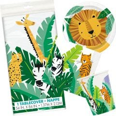 Animal Safari Party Pack (For 8 Guests)
