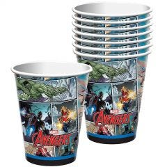 Avengers Marvel Powers Unite Paper Cups (Pack of 8)
