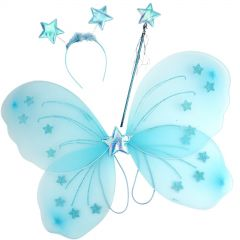 Blue Butterfly Costume Set