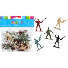 Plastic Toy Army Soldiers (Pack of 20)