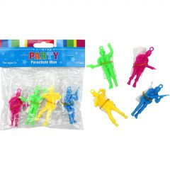 Plastic Toy Army Paratroopers (Pack of 4)