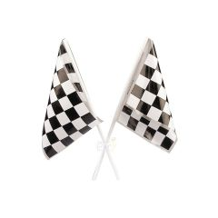 Chequered Flags (Pack of 12)