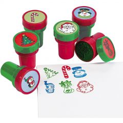Christmas Erasers (Pack of 12)