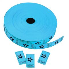 Circus Blue Star Ticket Roll (2000 Tickets)