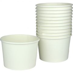 White Paper Cups (Pack of 8)
