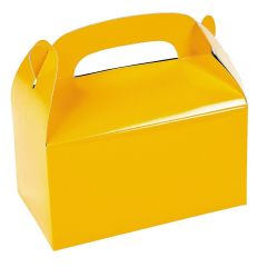 Yellow Lolly/Treat Boxes (Pack of 6)
