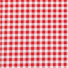 Red Gingham Large Napkins (Pack of 48)