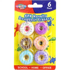Donut Erasers (Pack of 6)