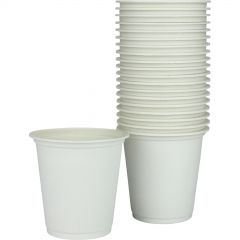 Biodegradable White Cornstarch Cups (Pack of 20)