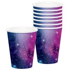 Space Blast Paper Cups (Pack of 8)
