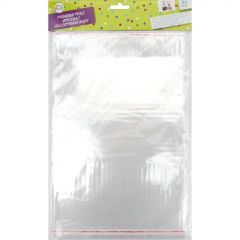 A4 Clear Peel and Seal Cello Bags (Pack of 20)