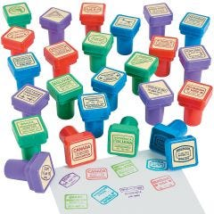 Passport Stamps (Pack of 24)