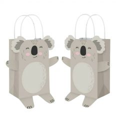 Koala Party Paper Gift Bags (Pack of 8)