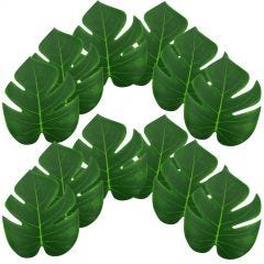 Artificial Tropical Palm Leaves 20cm (Pack of 12)