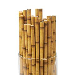 Bamboo Paper Straws (Pack of 24)