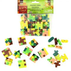 TNT Party Puzzle Cube Erasers (Pack of 12)