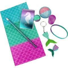 Mermaid Assorted Favour Pack (72 Pieces)