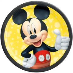 Mickey Mouse Forever Large Paper Plates (Pack of 8)