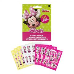 Minnie Mouse Sticker Book (9 Sheets)