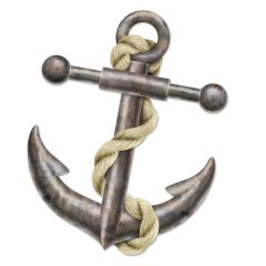 Anchor Jointed Cutout Decoration