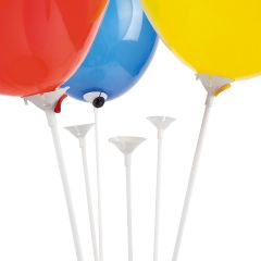 Balloon Sticks and Cups (Pack of 144)