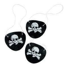 Pirate Eye Patches (Pack 12)