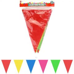Bright Coloured Fabric Flag Banner