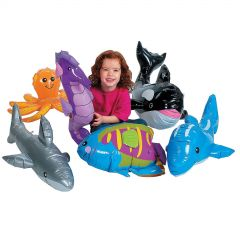 Inflatable Sea Animals (Pack of 6)