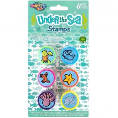 Under the Sea Animal Stamps (Pack of 6)