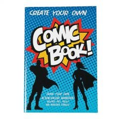 Create Your Own Comic Books (Pack of 12)
