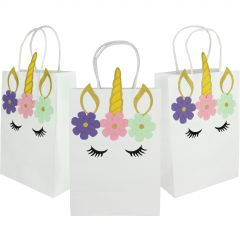 Dreaming Unicorn Paper Gift Bags (Pack of 3)