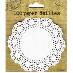Small Paper Doilies (Pack of 100)