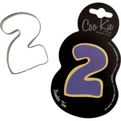 Coo Kie Number 2 Cookie Cutter