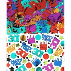 Dots & Stripes 50th Birthday Confetti/Table Scatters