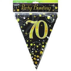 Happy 70th Birthday Jointed Banner