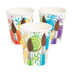 Little Artist Party Paper Cups (Pack of 8)