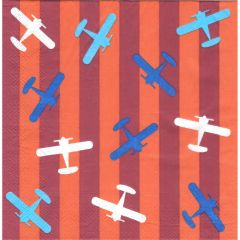 Airplane Large Napkins / Serviettes (Pack of 16)