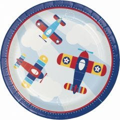 Lil' Flyer Small Paper Plates (Pack of 8)