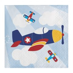 Lil' Flyer Small Napkins / Serviettes (Pack of 16)