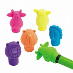Zoo Animal Pencil Top Erasers (Value Pack of 144)