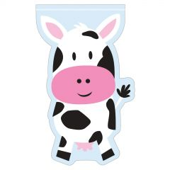 Farmhouse Fun Cow Lolly/Treat Bags (Pack of 12)