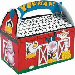 Farm Animal Lolly/Treat Boxes (Pack of 8)